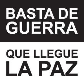 BASTA DE GUERRRA